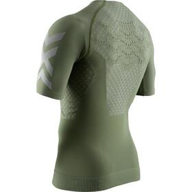 X-Bionic Twyce G2 T-shirt de running Homme, olive green/dolomite grey